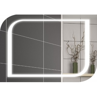 Огледало с осветление 80х60 см.