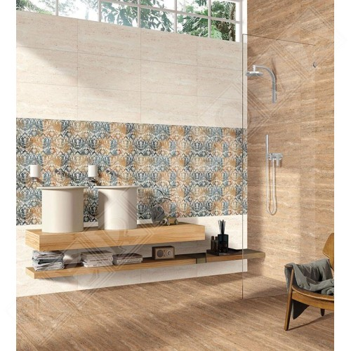Regal Travertino Beige 60x60 - Biba Ceramica
