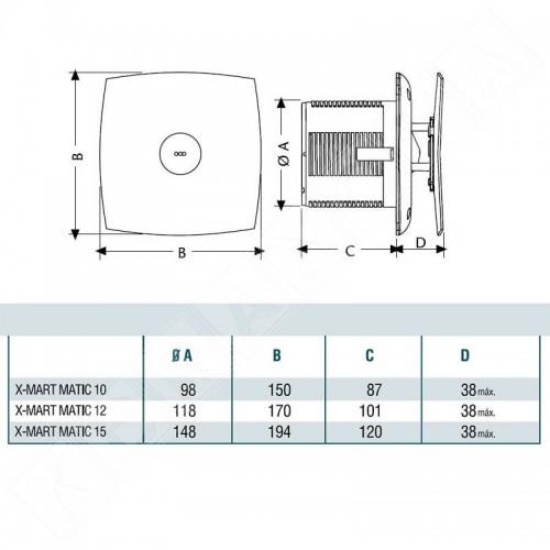 Cata X-MART 10 Matic инокс
