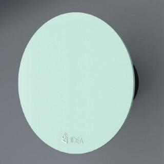 Вентилатор за баня със зелено стъкло /кръгъл/