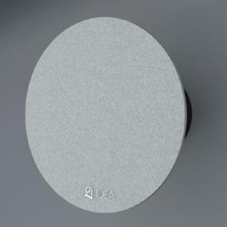 Вентилатор за баня със сребристо стъкло /кръгъл/