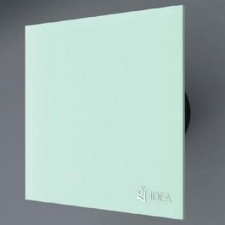 Вентилатор за баня със зелено стъкло