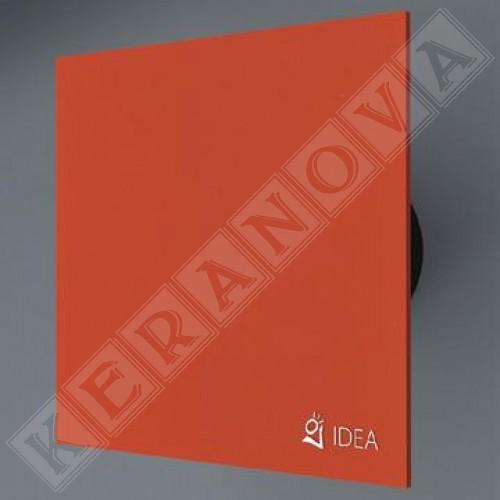 Вентилатор за баня с оранжево стъкло