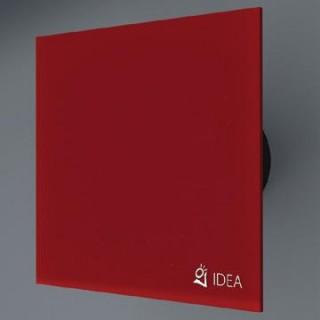 Вентилатор за баня с червено стъкло