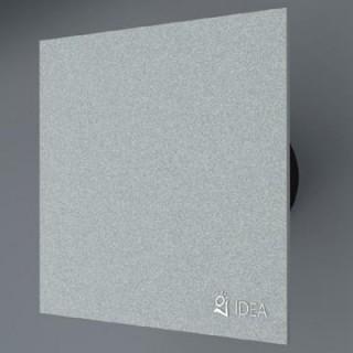 Вентилатор за баня със сребристо стъкло