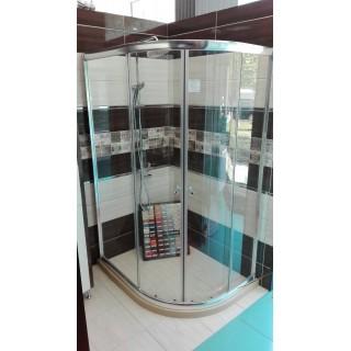 Кабина 6065 - 90х120 - прозрачно стъкло