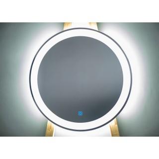 Огледало с осветление Ф60 см.