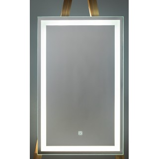 Огледало с осветление 50х80 см.