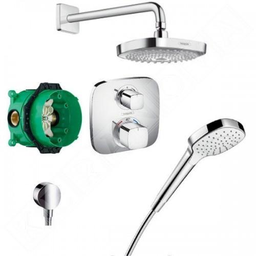Hansgrohe Design Душ комплект Croma Select E Душ система за вграждане с термостат 27294000