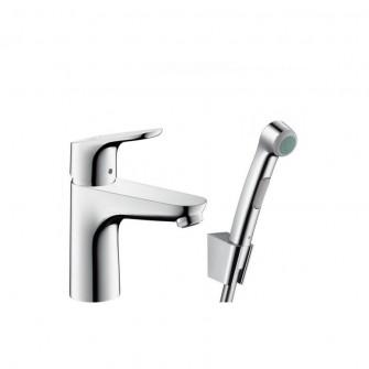 Hansgrohe Focus 100 за мивка с хигиенен душ
