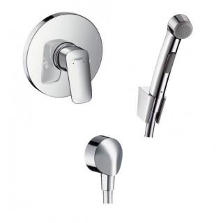 Hansgrohe Logis смесител за вграждане с хигиенен душ