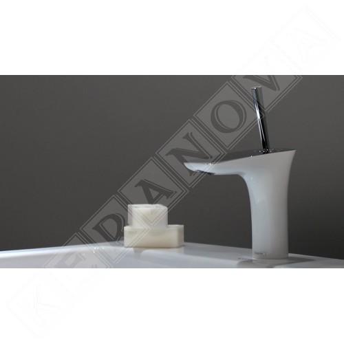 Hansgrohe PuraVida 110 бяло с хром