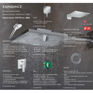 Hansgrohe Design Premium Set 2