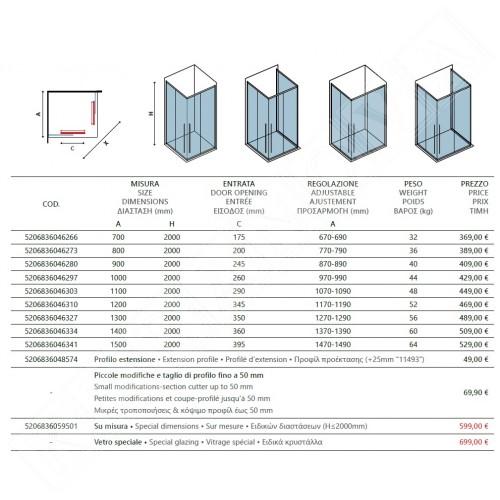 Elysium 100 - 70x150