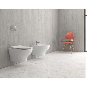Конзолна тоалетна Eolis Rimless