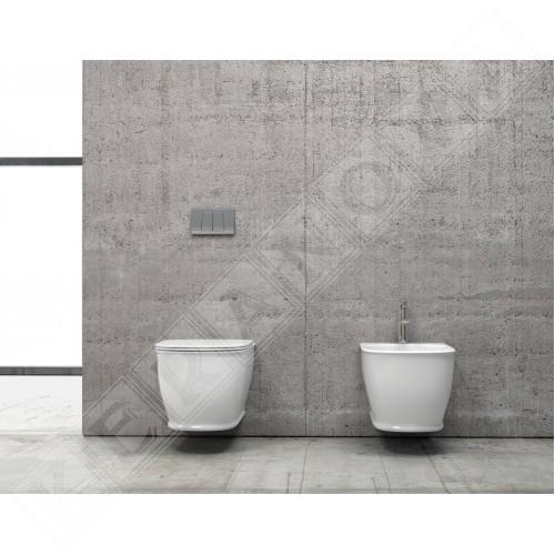 Конзолна тоалетна Genesis Rimless