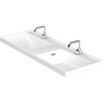 Двойна мивка Quattro за мебел 120 см.