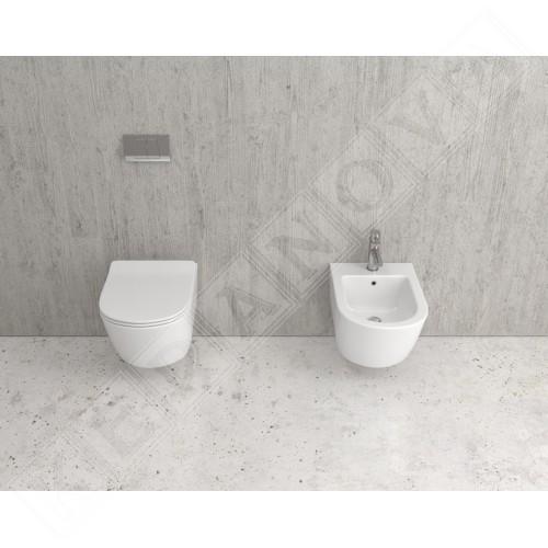 Конзолна тоалетна Sorrento Rimless