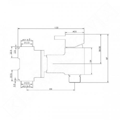 MIRO SUM3 комплект смесител + държач за хартия и душ