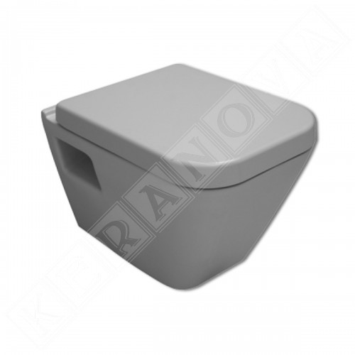 Промо пакет Serel Diagonal с биде, смесител и Grohe с хром бутон