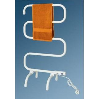 Електрически радиатор стойка за кърпи - бял