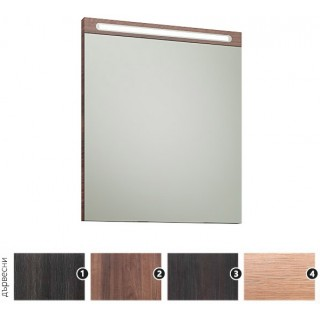 Огледало с осветление Авангард 55х65 см.