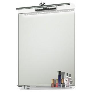 Огледало с осветление Смайл 55х70 см.