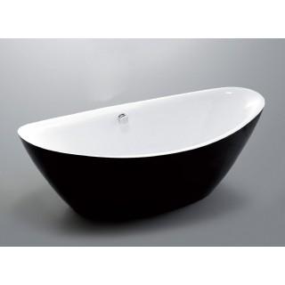 Свободно стояща вана Arezzo Black 180х87 см.