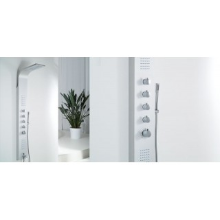 Хидромасажен душ панел Mariner Silver